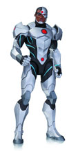Image: Justice League War Action Figure: Cyborg  - DC Comics