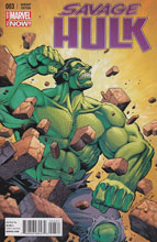 Image: Savage Hulk #3 (variant cover - Starlin) - Marvel Comics
