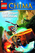 Image: Lego: Legends of Chima Vol. 02 - Right Decision HC  - Papercutz