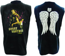 Image: Walking Dead: Sorry Brother Sleeveless Shirt  (L) -