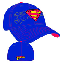 Image: DC Word Classic Stretch Fit Cap: Superman  -