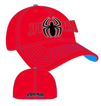 Image: Marvel Word Classic Stretch Fit Cap: Spider-Man  -