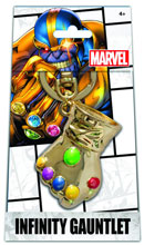 Image: Marvel Infinity Gauntlet Previews Exclusive Gold Pewter Keyring  -