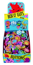 Image: I Heart Guts: Box O' Guts 1-inch Pin 200-Piece Display  -