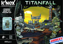 Image: Knex Titanfall: Ultimate Angel City Campaign Building Set  -