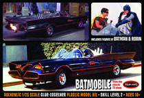 Image: 1966 Batman Model Kit: Batmobile  (1/25 scale) -