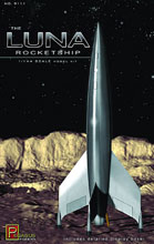 Image: Luna Rocketship Model Kit  (1/144 Scale) -