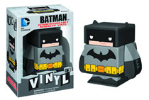Image: DC Cubed Vinyl Figure: Batman  (black) -