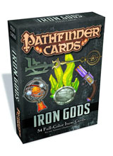 Image: Pathfinder Cards: Iron Gods Adventure Path Item Cards Deck  -