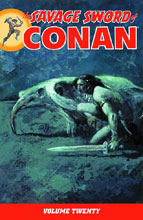 Image: Savage Sword of Conan Vol. 20 SC  - Dark Horse Comics