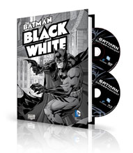 Image: Batman Black & White Vol. 1 Book & DVD/Blu-ray HC  - DC Comics