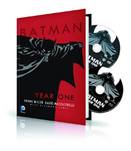 Image: Batman Year One Book & DVD/Blu-ray HC  - DC Comics