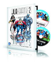 Image: JLA / Earth 2 Book & DVD/Blu-ray HC  - DC Comics