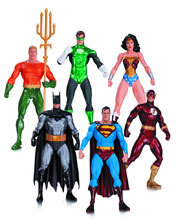 Image: Alex Ross Justice League Action Figure 6-Pack  - DC Comics