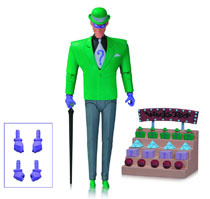 Image: Batman: The Animated Series Action Figure 14 - The Riddler  - DC Comics