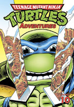 Image: Teenage Mutant Ninja Turtles Adventures Vol. 10 SC  - IDW Publishing