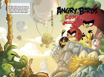 Image: Angry Birds Comics Vol. 03: Sky High HC  - IDW Publishing