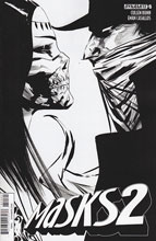 Image: Masks 2 #5 (Lee b&w incentive cover - 05061) (20-copy) - Dynamite