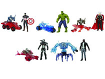 Image: Avengers: Age of Ultron 2-1/2-inch Action Figure 2-Pack Assortment 201502  -
