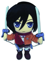 Image: Attack on Titan Plush: Mikasa  -