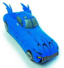 Image: Batmobile Vehicle Plush  -