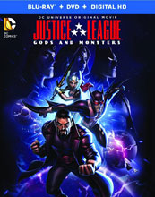 Image: Justice League: Gods and Monsters DVD  -