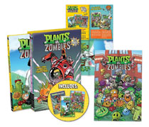 Image: Plants vs. Zombies Graphic Novel ZomBox Set 2 HC  - Dark Horse Comics