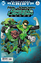 Image: Hal Jordan & the Green Lantern Corps #3 (variant cover - Kevin Nowlan) - DC Comics
