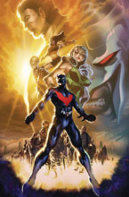 Image: Batman Beyond Vol. 02: City of Yesterday SC  - DC Comics