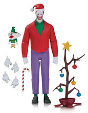 Image: Batman the Animated Series Action Figure 037: Holiday Joker  - DC Comics
