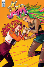 Image: Jem and the Holograms #18  [2016] - IDW Publishing