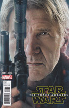 Image: Star Wars: The Force Awakens Adaptation #3 (movie photo incentive cover - 00331)  [2016] - Marvel Comics
