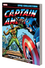 Image: Captain America Epic Collection: The Coming of... The Falcon SC  - Marvel Comics