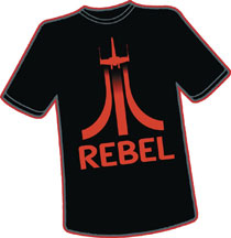 Image: 8-Bit Rebels T-Shirt  (XL) - Antarctic Press
