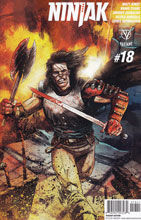 Image: Ninjak #18 (Gorham Interlock A incentive - 01841) (10-copy)  [2016] - Valiant Entertainment LLC