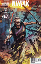 Image: Ninjak #18 (Gorham Interlock B incentive - 01851) (20-copy)  [2016] - Valiant Entertainment LLC