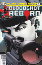 Image: Bloodshot Reborn #16 (Robertson incentive cover - 01651) (20-copy)  [2016] - Valiant Entertainment LLC