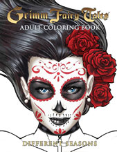 Image: Grimm Fairy Tales Adult Coloring Book: Different Seasons SC  - Zenescope Entertainment Inc