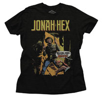 Image: Jonah Hex T-Shirt [Black Heather]  (L) - Junk Food Clothing