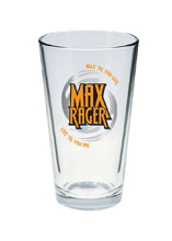 Image: iZombie Pint Glass: Max Rager  - Diamond Select Toys LLC