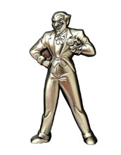 Image: Batman: The Animated Series Bottle Opener - Joker Figure  - Diamond Select Toys LLC