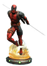 Image: Marvel Gallery PVC Diorama: Deadpool  - Diamond Select Toys LLC