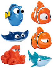 Image: Finding Dory Bath Squirters Assortment  - Bandai America