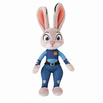 Image: Zootopia Feature Plush: Officer Judy Hopps  (w/Sounds) - Tomy International