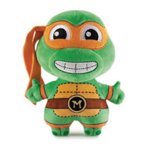 Image: Teenage Mutant Ninja Turtles Phunny Plush: Michaelangelo  - Beautiful Plastic