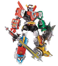 Image: Voltron, Defender of the Universe Ultimate EX Action Figure  - Toynami Inc