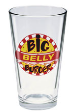 Image: Toon Tumblers Arrow TV Glass: Big Belly Burger  - Popfun Merchandising LLC