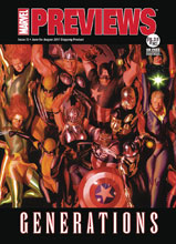 Image: Marvel Previews #25 (August 2017) - Marvel Comics (Buy - Sell)