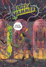 Image: Black Hammer #12 (regular cover - Rubin) - Dark Horse Comics