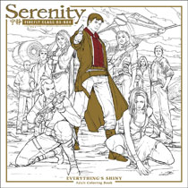 Image: Serenity: Everythings Shiny Adult Coloring Book SC  - Dark Horse Comics